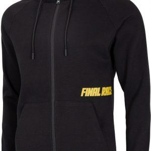dresowa bluza męska 4f h4l20-blm015 czarna przód