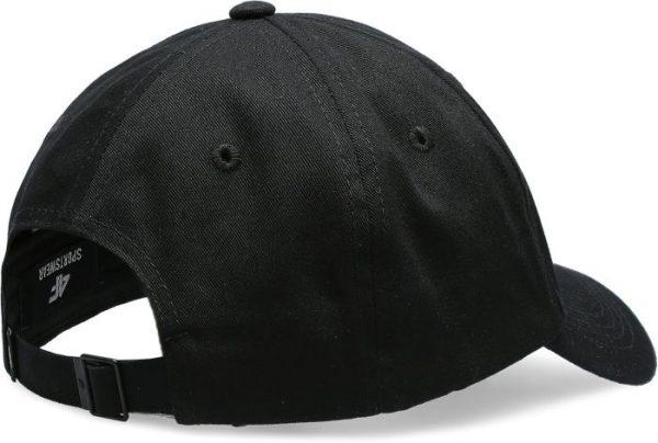 czapka z daszkiem męska 4f h4l20-cam009 czarna tył