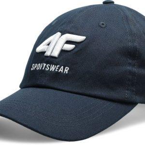 czapka z daszkiem męska 4f h4l20-cam009 granatowa przód