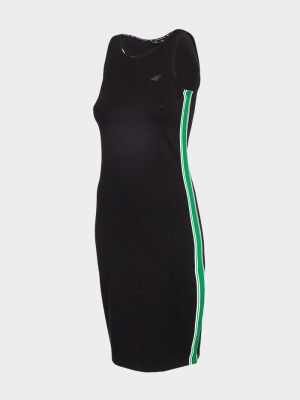 sukienka prosta 4f h4l20-sudd020 czarna