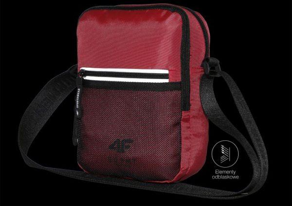 Saszetka na ramię 4F h4l20-tru001 czerwona odblaski