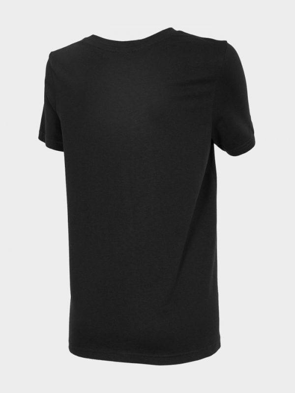 t-shirt damski 4f oversize h4l20-tsd011 czarny tył