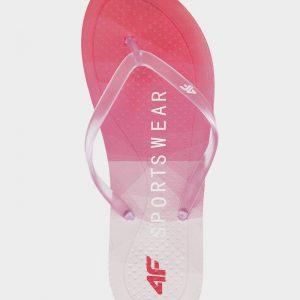 klapki japonki damskie 4f h4l20-kld003 różowe