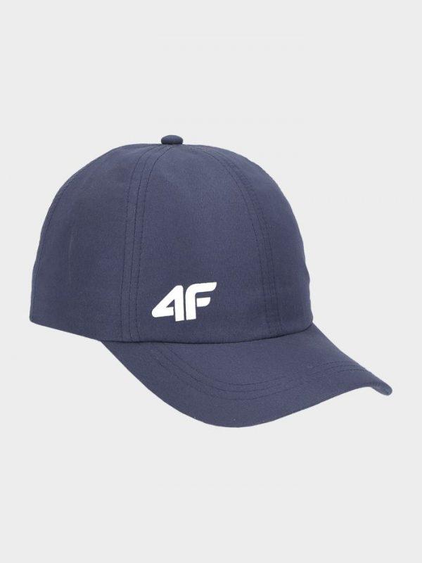 czapka z daszkiem chłopięca 4f hjl20-jcam004 granatowa