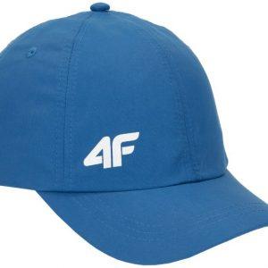 czapka z daszkiem chłopięca 4f hjl20-jcam004 niebieska