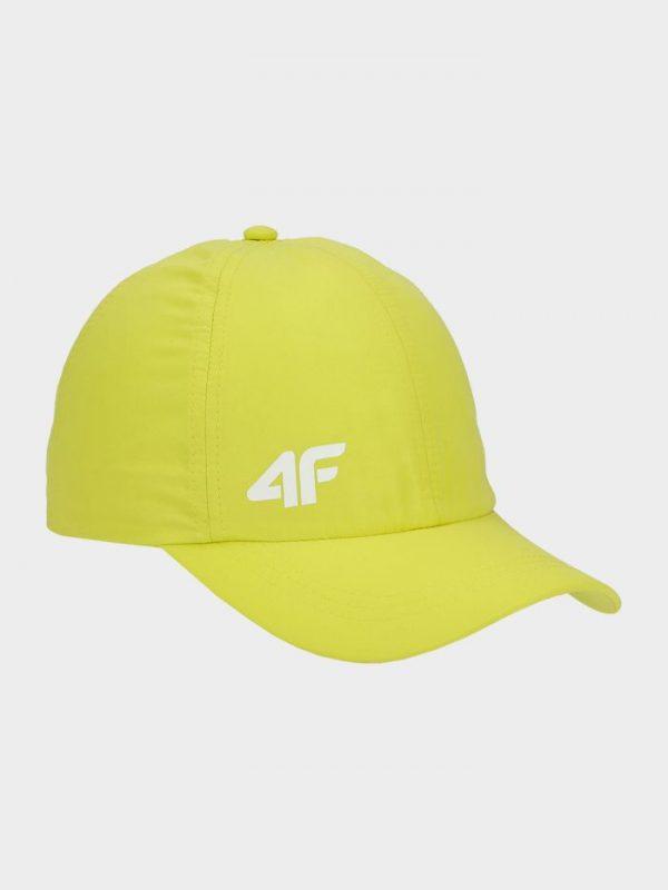 czapka z daszkiem chłopięca 4f hjl20-jcam004 żółta