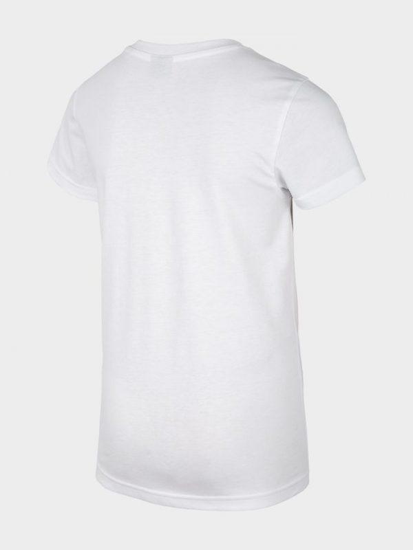 t-shirt chłopięcy 4f hjl20-jtsm023 biały tył