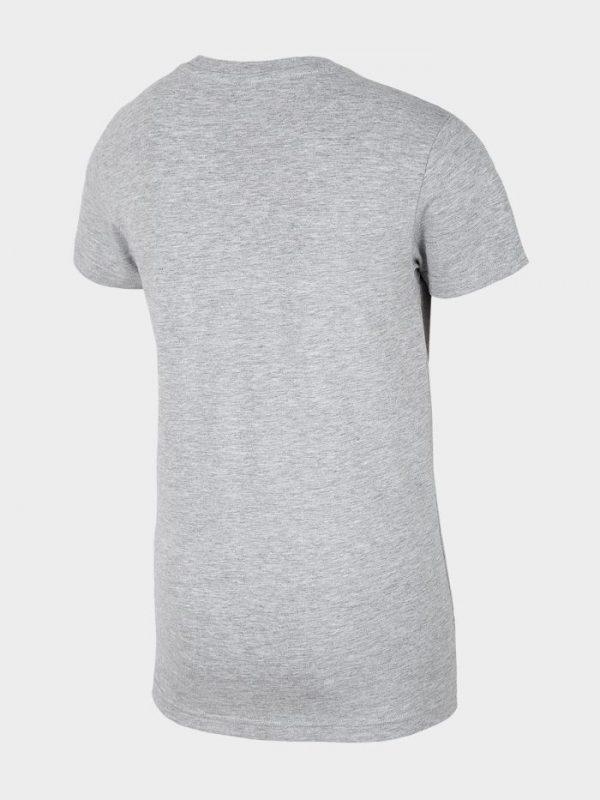 t-shirt chłopięcy 4f hjl20-jtsm023 szary tył